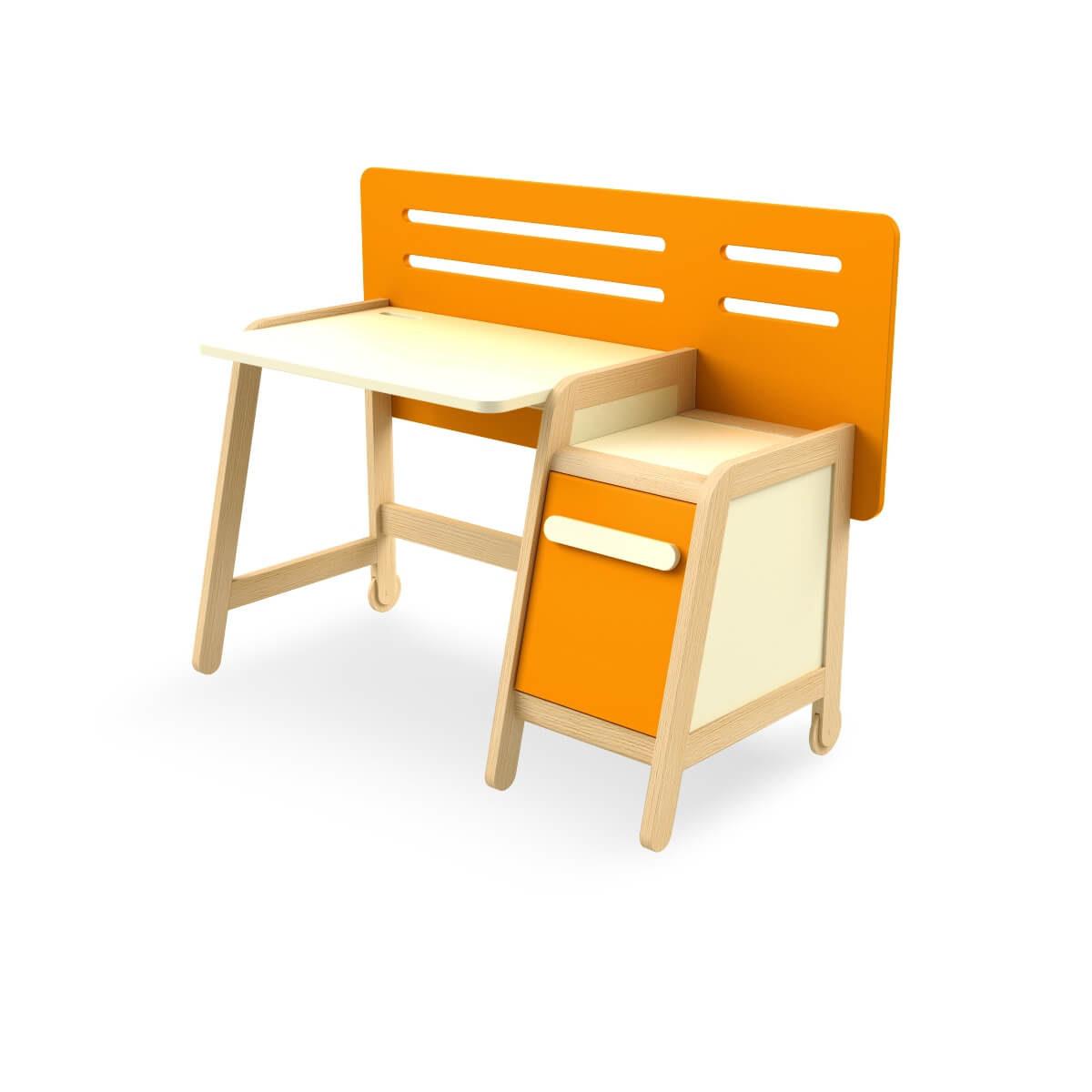 birou copii lemn masiv
