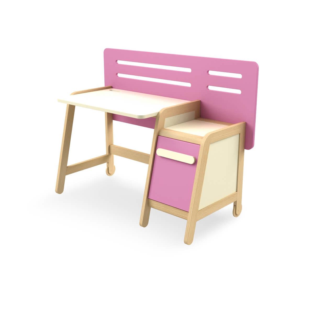 birou fetite roz