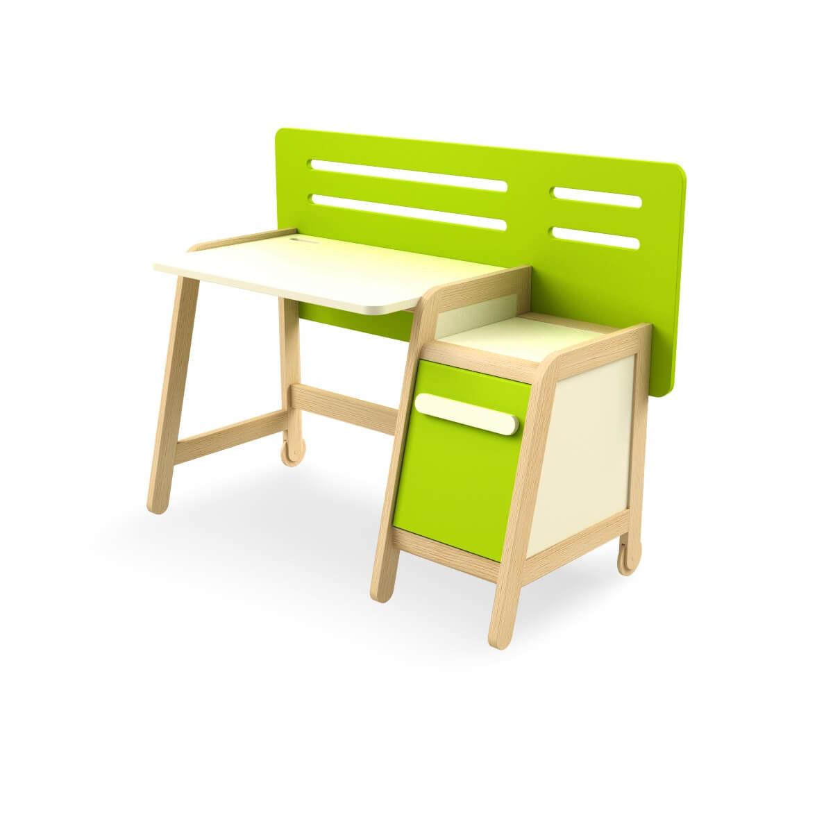 birou lemn masiv copii