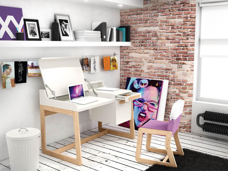 camera copii birou