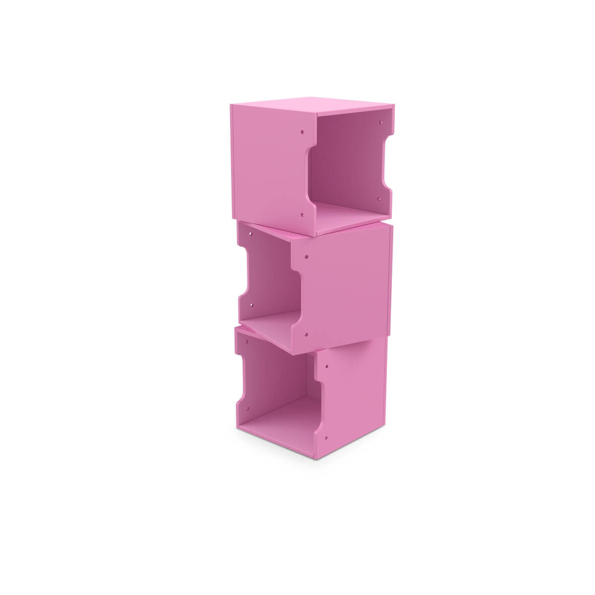 cutii depozitare roz