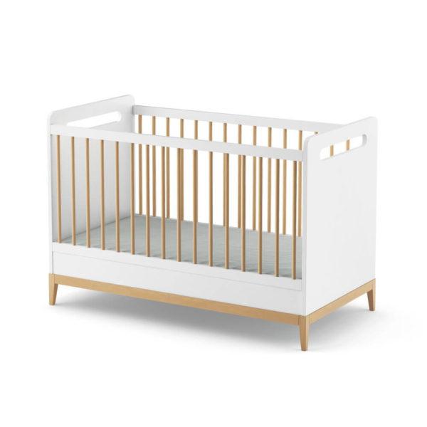 patut bebe lemn cu grilaj