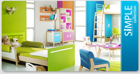 colectia mobilier copii simple