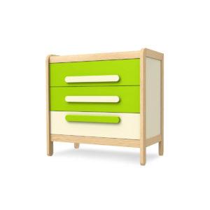 Comoda lemn masiv copii cu 3 sertare