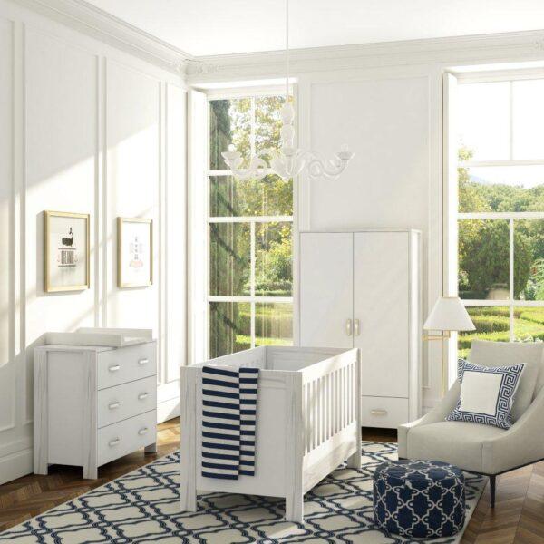 camera copii eleganta, culaore alba