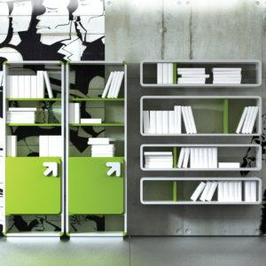 biblioteca si rafturi