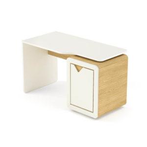 birou copii alb stejar