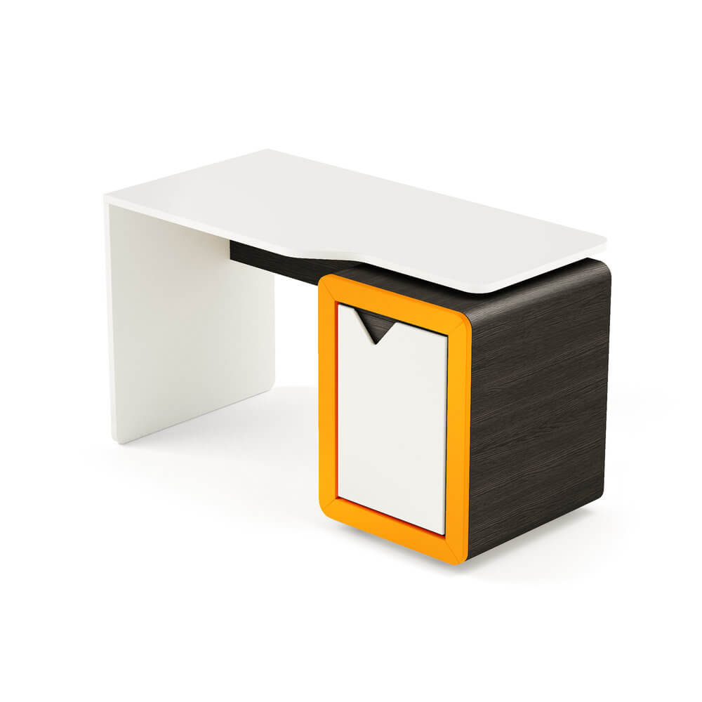 birou copii insertii portocaliu