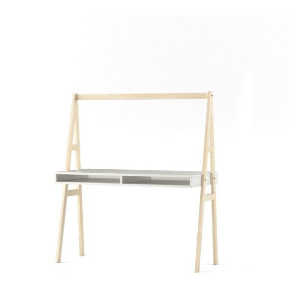 birou minimalist cu design nordic