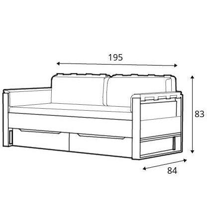 dimensiuni canapea