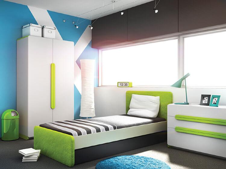 pat camera copii