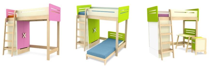 paturi supraetajate copii
