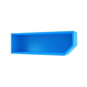 raft albastru